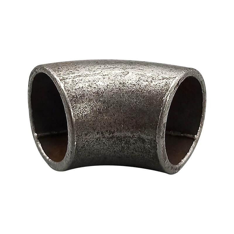 زانو ۴۵ درجه سیاه درز دار سنگین