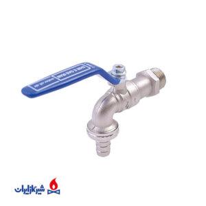 شیر آب حیاطی گاز ایران
