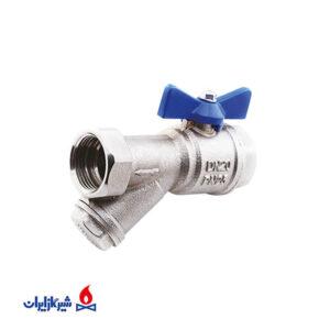 شیر پکیجی صافی دار گاز ایران
